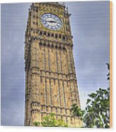 Big Ben - Elizabeth Tower Wood Print
