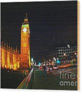 Big Ben - London Wood Print
