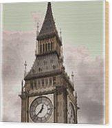 Big Ben - London Wood Print