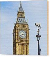 Big Ben Security Wood Print