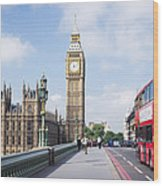 Big Ben Wood Print by Trevor Wintle