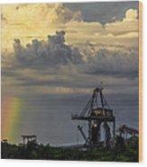 Big Bend Rainbow Wood Print by Marvin Spates