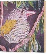 Big Bird Wood Print by Linda Vaughon