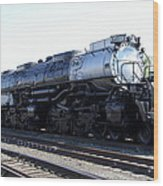 Big Boy - Union Pacific Railroad Wood Print