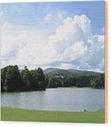 Big Canoe Golf Wood Print by Bob Jackson