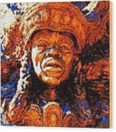 Big Chief Tootie Wood Print