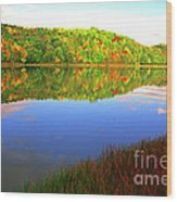 Big Ditch Lake West Virginia Wood Print