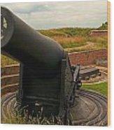 Big Gun Wood Print