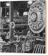Big Iron Restored Wood Print