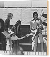 Big Jam At Day On The Green 1976 Wood Print