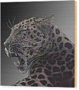 Big Kitty Kitty Wood Print