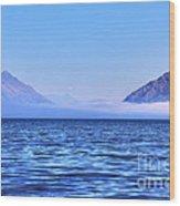 Big Lake In Newzealand Wood Print