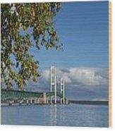 Big Mackinac Bridge 68 Wood Print