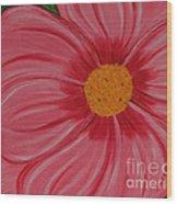 Big Pink Flower - Florist - Gardener Wood Print