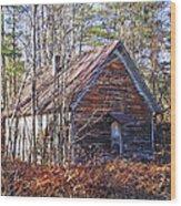 Big Pisgah Baptist Church Nc Wood Print