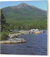 Big Rock View 3 Wood Print