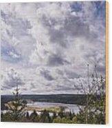 Big Sky At Kielder Wood Print