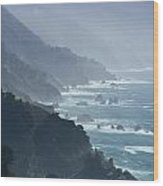 Big Sur 2 Wood Print