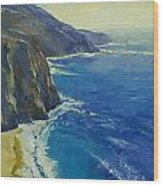 Big Sur California Wood Print by Michael Creese