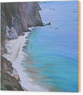 Big Sur Coast Wood Print