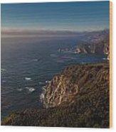 Big Sur Headlands Wood Print