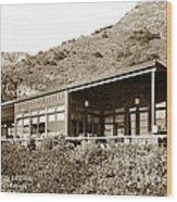 Big Sur Hot Springs Now The Esalen Institute California Circa 1961 Wood Print