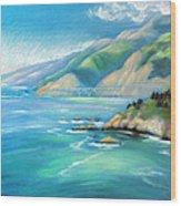 Big Sur Serenity Wood Print