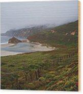 Big Sur Wood Print