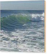 Big Surf Wood Print