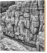 Big Thunder Mountain Railroad Wood Print