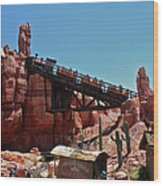 Big Thunder Mountain Walt Disney World Wood Print
