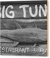 Big Tuna Wood Print