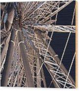 Big Wheel Wood Print