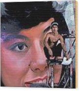 Biggest Woman In Bangkok Wood Print