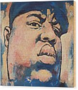 Biggie Smalls Art Painting Poster Wood Print