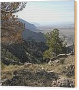 Bighorn Mountains-wy Wood Print