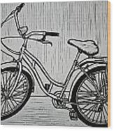 Bike 5 Wood Print by William Cauthern
