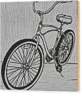 Bike 6 Wood Print by William Cauthern