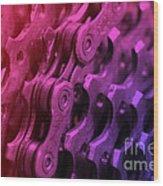 Bike Chain Wood Print