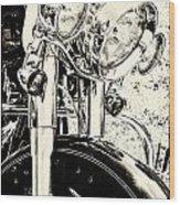Bike II Wood Print