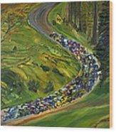 Bike Race Belgium Arden Spring Classics Wood Print
