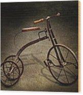 Bike - The Tricycle  Wood Print