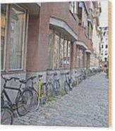 Bike Transportation Wood Print