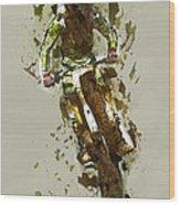 Biker Wood Print