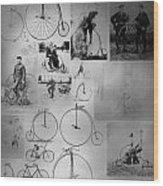 Bikezz Wood Print