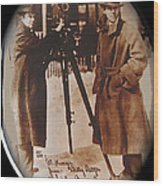 Billy Bitzer D.w. Griffith Pathe Camera Way Down East 1920-2013 Wood Print