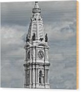 Billy Penn In The Clouds Wood Print