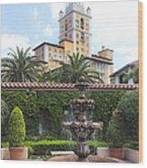 Biltmore Hotel 02 Wood Print