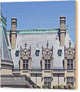 Biltmore House Roof Wood Print