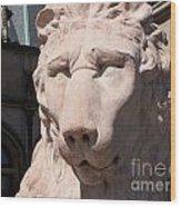 Biltmore Lion Wood Print